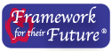 frisco childcare framework logo with apple